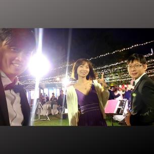 台中婚禮樂團 | Hank&Debby大囍日 - 戶外美式婚禮